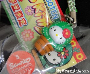 Hello Kitty Cactus Phone Strap