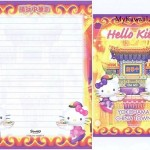 Hello Kitty Yokohama Letter Set