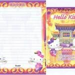 Hello Kitty Yokohama Letter Set