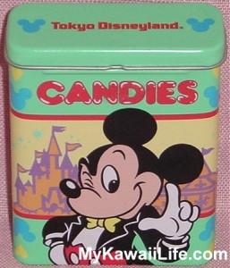 Tokyo Disneyland Mickey Tin