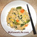 Japanese Salmon Pasta Recipe