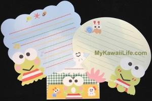 Keroppi Letter Set