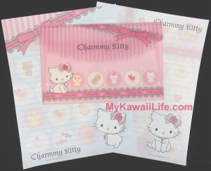 Charmmy Kitty Letter Set