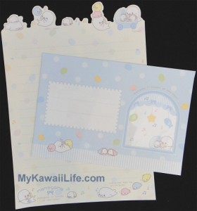 Baby Mamegoma Letter Set