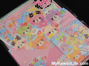 Kawaii Bear Letter Set
