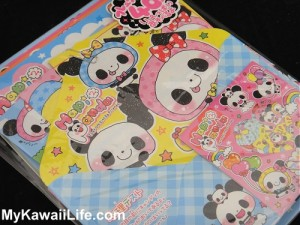 Kawaii Panda Letter Set