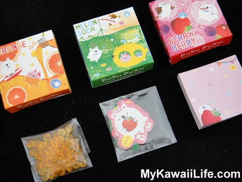 Q-lia Fruit Sticker & Memo Boxes