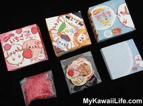 Q-lia Dogs Sticker & Memo Boxes
