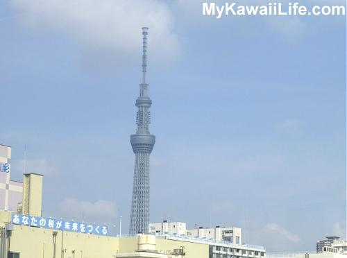 Tokyo Sky Tree From The Narita Express