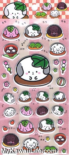 Sanrio Character Stickers - Dango