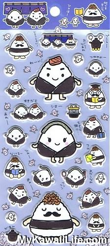 Sanrio Character Stickers - Onigiri