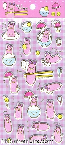 Sanrio Character Stickers - Pink