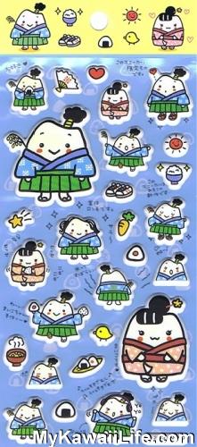 Sanrio Character Stickers - Samurai