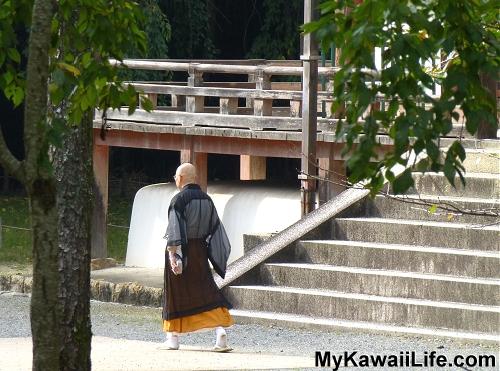 Daigoji Temple Monk