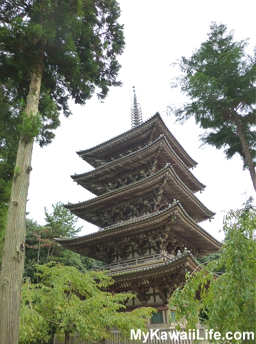 Daigoji Temple Pagoda