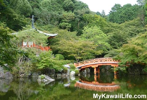 Daigoji Temple Bentendo Pond