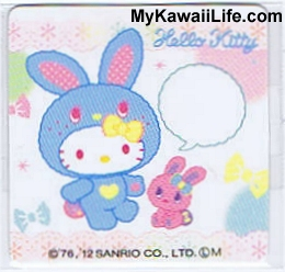 Hello Kitty Bunny Sticker