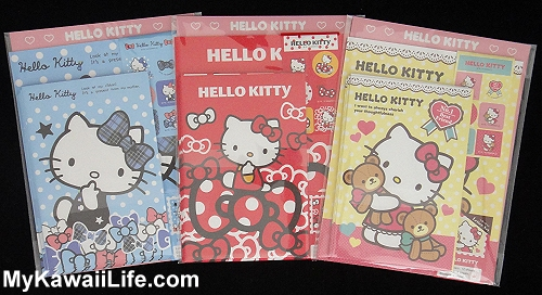 Hello Kitty Letter Sets from Japan