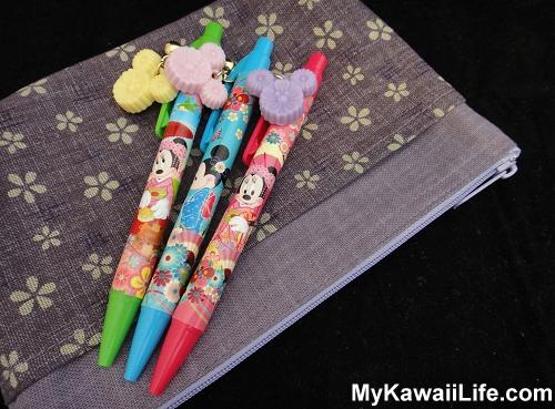 Tokyo Disneyland Minnie Mouse Kawaii Pens