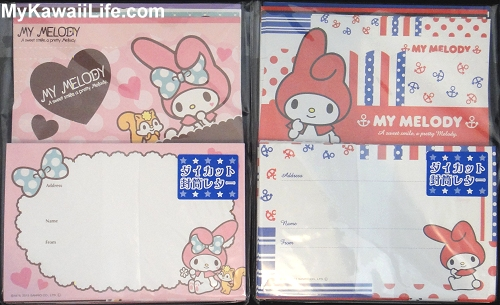 Sanrio My Melody Letter Sets