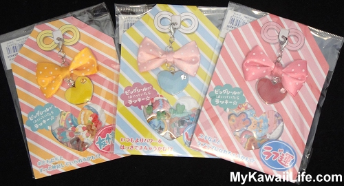 Kawaii Stickers Sacks With Heart Charms