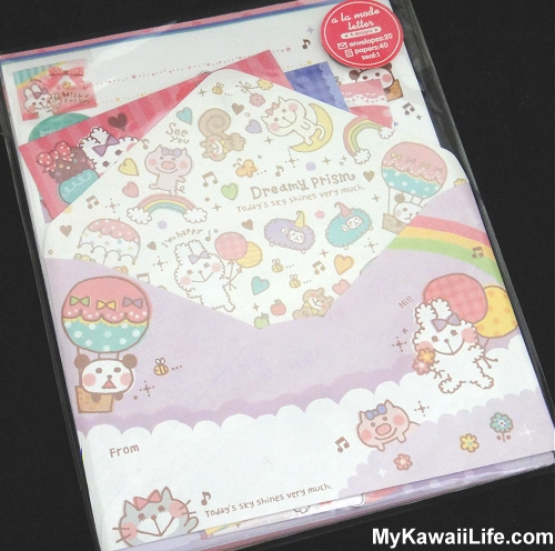 Dreamy Prism Kawaii Letter Set
