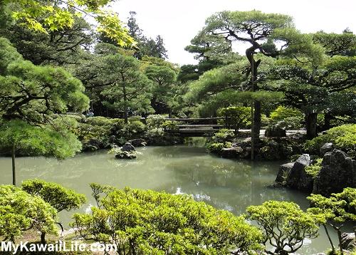 Ginkaku-ji Silver Pavilion Gardens