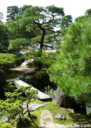 Ginkaku-ji Silver Pavilion Garden Bridge