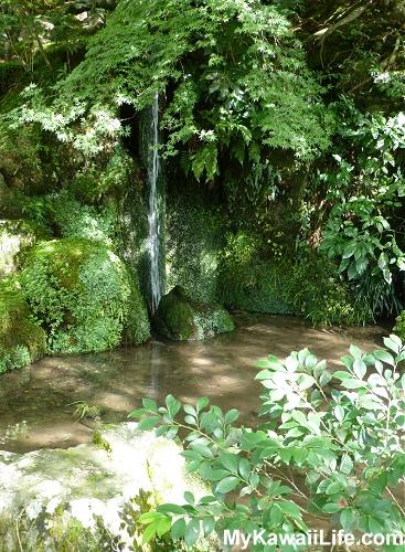 Ginkaku-ji Silver Pavilion Waterfall
