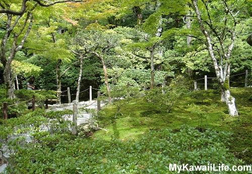 Ginkaku-ji Silver Pavilion Stairs