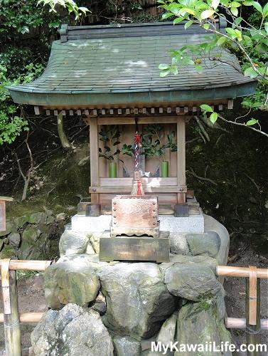 Ginkaku-ji Silver Pavilion Benzaiten Shrine