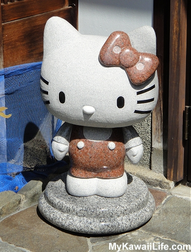 Hello Kitty Koubou Statue - The Cutest Hello Kitty Shop In Kyoto
