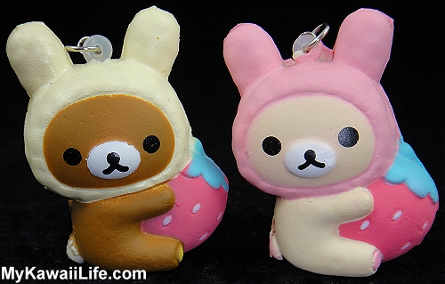 Rilakkuma Strawberry Squishies