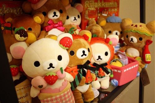 Faith's Rilakkuma Plushie Collection 1