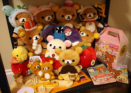 Faith's Rilakkuma Plushie Collection 3