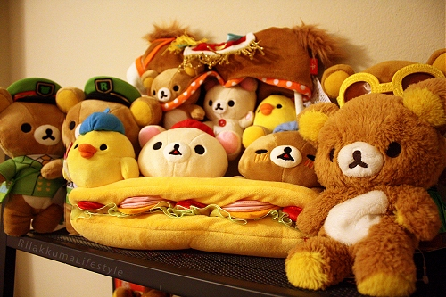 Faith's Rilakkuma Plushie Collection 4