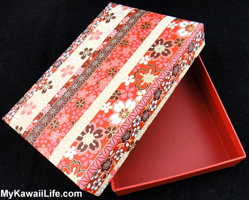 Washi Paper Box From Takayama Japan