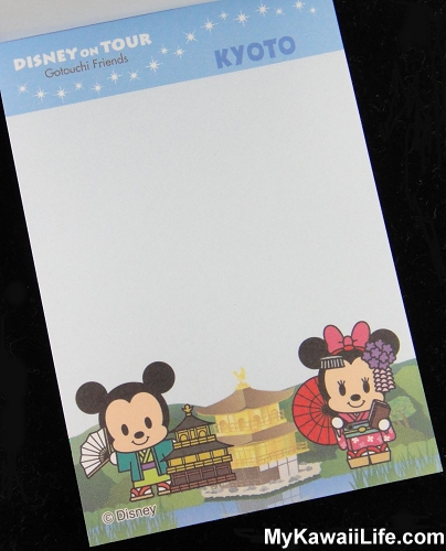 Disney In Kyoto Mini Memo Pads - Mickey Mouse & Minnie Mouse