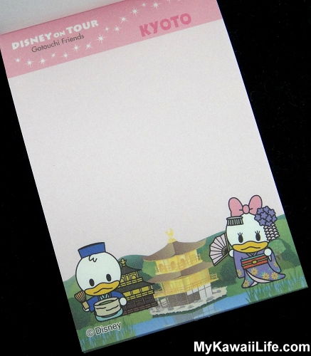 Disney In Kyoto Mini Memo Pads - Donald Duck & Daisy Duck