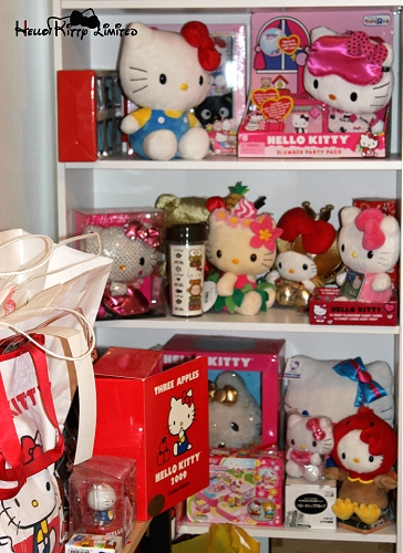 Sheena's Amazing Hello Kitty Collection