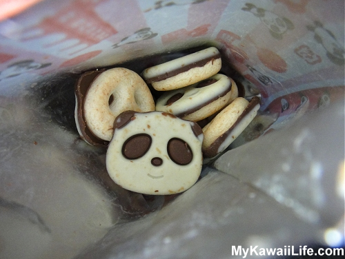 Bag Of Panda Cookies From Japan