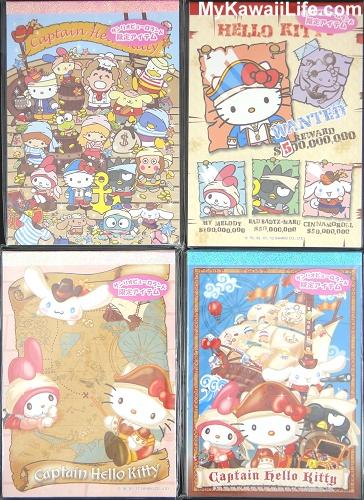 Captain Hello Kitty Memo Pads from Sanrio Puroland