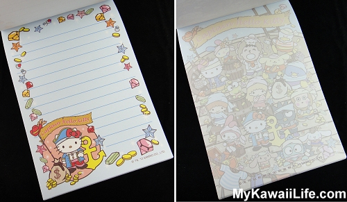 Captain Hello Kitty Memo Pads from Sanrio Puroland 1