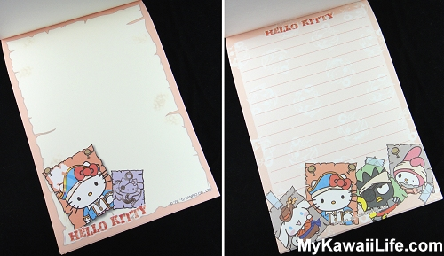 Captain Hello Kitty Memo Pads from Sanrio Puroland 2