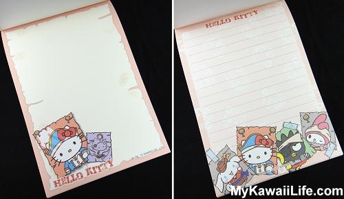 Captain Hello Kitty Memo Pads from Sanrio Puroland 2