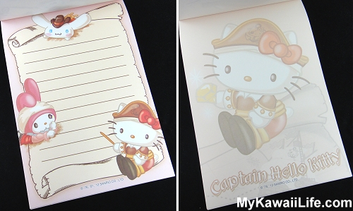 Captain Hello Kitty Memo Pads from Sanrio Puroland 3