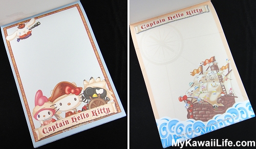 Captain Hello Kitty Memo Pads from Sanrio Puroland 4