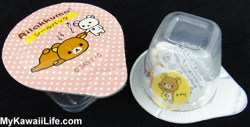 Rilakkuma Sticker Flakes Jelly Cups