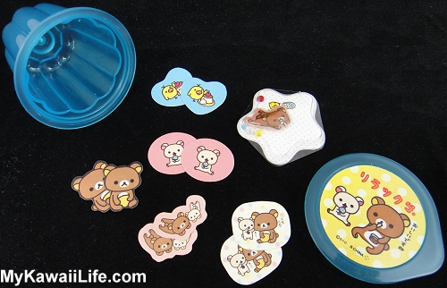 Rilakkuma Sticker Flakes Jelly Cup