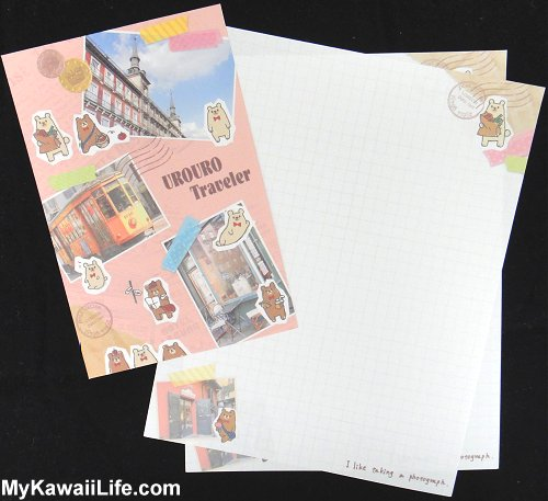Urouro Traveler Letter Set Design 2
